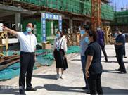 二七区副区长李雅一行莅临华都绿色智造科技园指导灾后恢复重建工作
