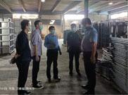 热烈欢迎黄河科技学院莅临华都集团考察公寓家具