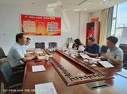 郑州市工商联副主席马秦岭一行莅临河南华都集团调研